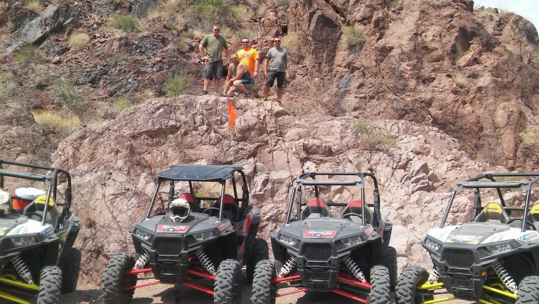 Razor desert tours